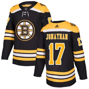 Stan Jonathan Youth Adidas Boston Bruins Authentic Black Home Jersey